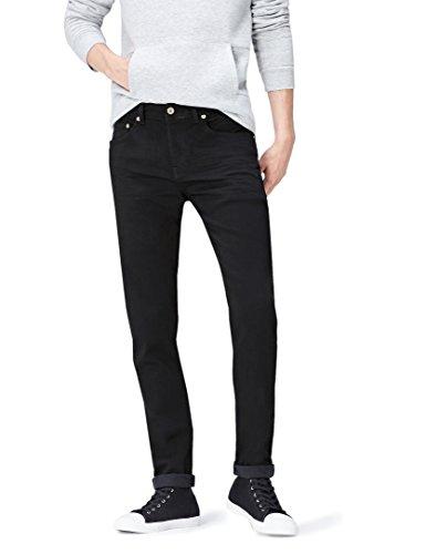 Find Uomo Jeans Sbiadito Lavaggio Wash Nero black qqvwUr8C