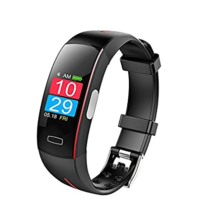 SJUTALR 2019 NEW blood pressure wrist band heart rate monitor PPG ECG smart bracelet Activit fitness tracker intelligent wristband Estimated Price £73.98 -