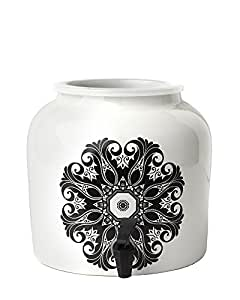 New Wave Enviro Boho 1 Porcelain Water Dispenser, 2.5 gallon