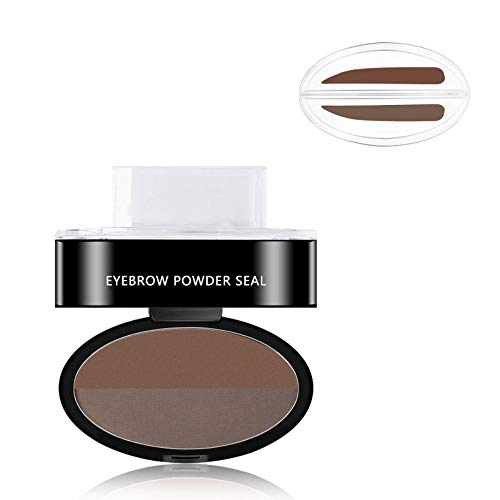 003 Caramel - est Eyebrow Powder Seal Waterproof Eyebrow Stamp Eyebrow Shadow Set Natural Shape Brow Stamp Powder Palette 003