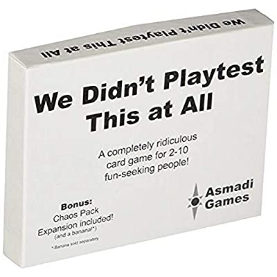 Asmadi Games We Didn't Playtest This at All - with Chaos Pack: Toys & Games