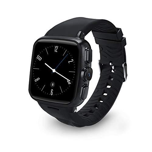 Kariwell 1.54'' LED Screen Dual Core Smart Watch - GPS/Speaker/MIC/Compass/G-Sensor/WiFi/Bluetooth/Phone Book/Phone Call/SMS Kari-162 (Black)