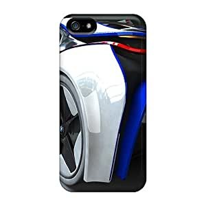 High Grade Flash-Men Flexible Tpu Case For Iphone 5/5s - Bmw Vision