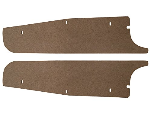 New 1963 Mercury Comet Hardtop Convertible S-22 LH RH Side Extension Trunk Filler Boards (F182)