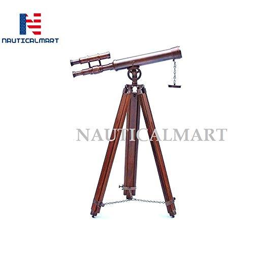 NAUTICALMART Floor Standing Antique Copper Griffith Astro Telescope 45''-Vintage Telescope by NAUTICALMART (Image #2)