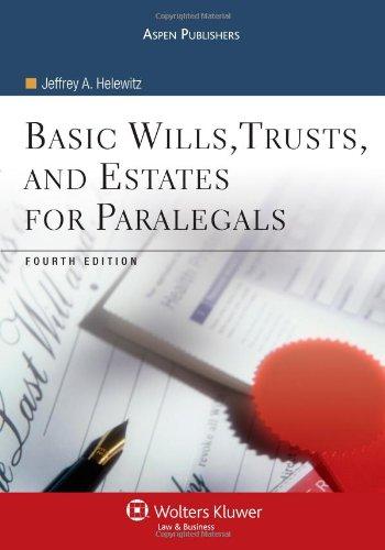 Basic Wills Trusts & Estates for Paralegals