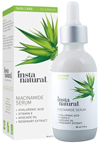 Instanatural Niacinamide 5 Face Serum Vitamin B3 Anti Aging Skin Moisturizer Diminishes Acne
