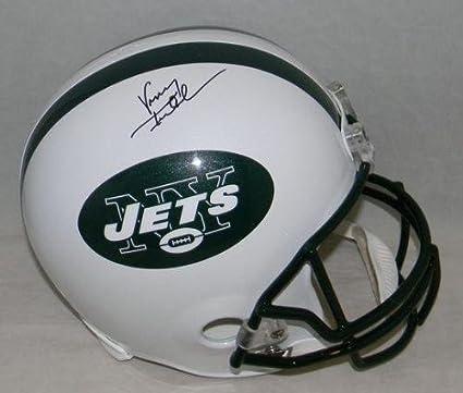 Vinny Testaverde Autographed Helmet - Full Size - JSA Certified -  Autographed NFL Helmets 8c2ea4417