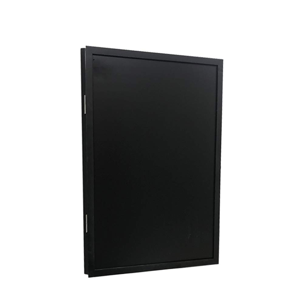 LIANGJUN Message Board Chalkboards Wall-Mounted Magnetic Simple Multifunction Chalk Writing Coffee Shop Household, 3 Sizes (Color : Wood, Size : 70X100cm)