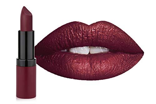 Golden Rose Velvet Matte Lipstick, 32 Merlot