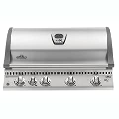 The Napoleon LEX 605 propane gas grill offers a deluxe outdoor BBQ grill for the serious barbecue enthusiast. The superior design and construction features a stainless steel construction with chrome plated accents for a long lasting and durab...