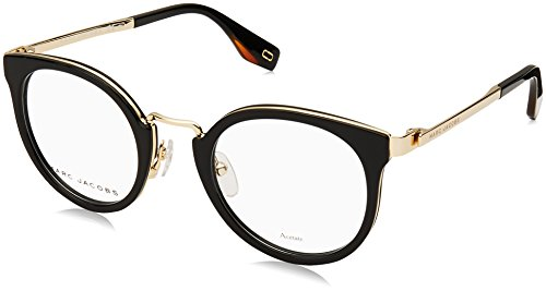 (Marc Jacobs frame (MARC-269 807) Acetate - Metal Shiny Black - Light Gold)