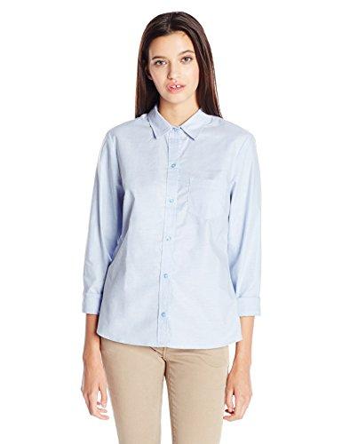 Classroom Uniforms Juniors Long Sleeve Oxford Shirt, Light Blue, (Button Down Rugby)