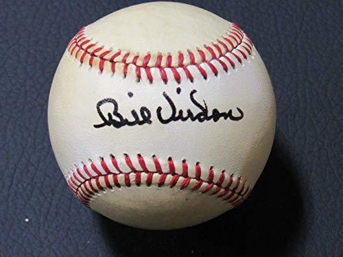 Autographed Bill Virdon Ball - Rawlings OAL B98 - Autographed - Baseball Oal Ball