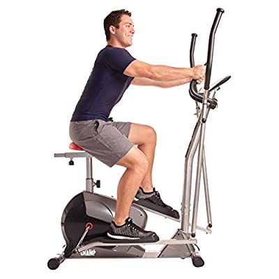 Body Champ BRM3008 2-in-1 Cardio Dual Trainer