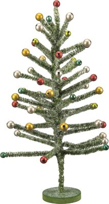 Green Bulb-Tipped Christmas Tree by Heart of America