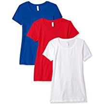 Clementine Women's Ideal Crew Neck Tee (Pack of 3)