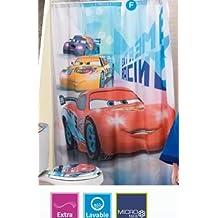 "Disney Cars Shower Curtain 71""x71"""