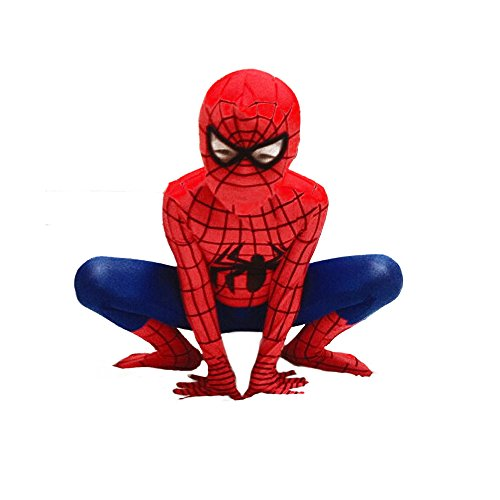 Superhero Costumes Spiderman Suit Boys Cosplay Halloween Costume Kids (Different Homemade Costumes)