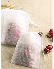50 قطعة / الوحدة أكياس الشاي 5.5x7 سنتيمتر أكياس الشاي المعطرة فارغة مع سلسلة شفاء ختم ورقة مرشح لل عشب