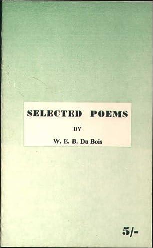 Webdu Bois Poems 3