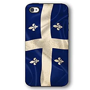 Quebec Canada Canadian Flag For SamSung Galaxy S4 Mini Case Cover Armor Phone Case