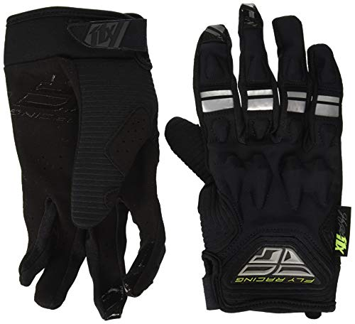 Sig Lite - Fly Racing Unisex-Adult Johnny Campbell Sig Patrol XC Lite Gloves Black/Grey Size 10