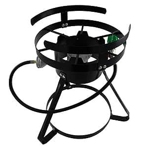 Amazon.com: Chard bsr13 quemador portátil con soporte y ...