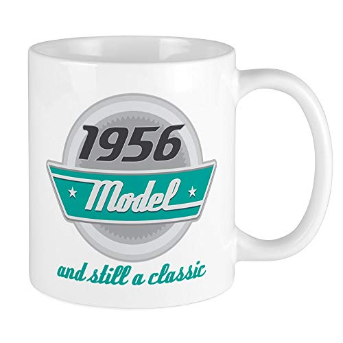 CafePress 1956 Birthday Vintage Chrome Mug Unique Coffee Mug, Coffee Cup