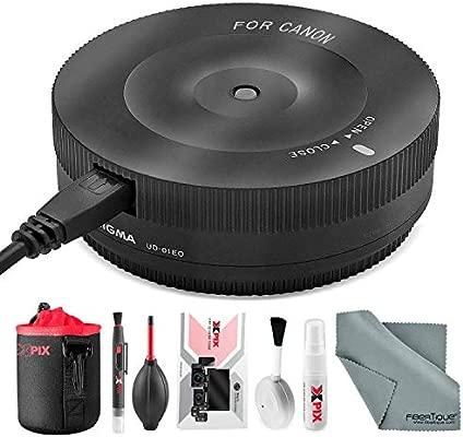 Sigma - Base USB para Objetivo Canon EF (Incluye Kit de Limpieza ...