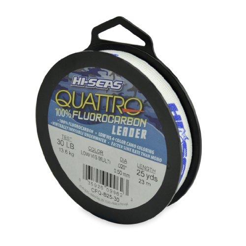 Hi-Seas Quattro 100% Fluorocarbon Leader