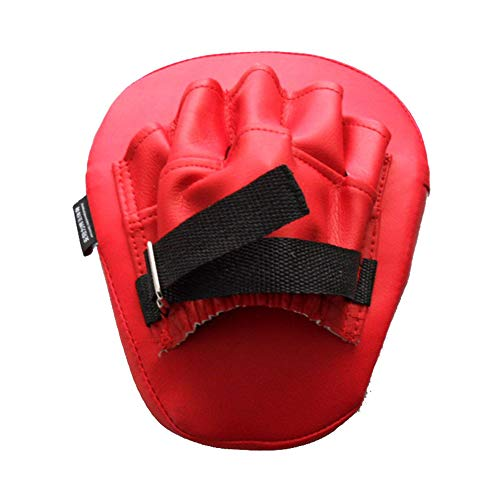 (2Pcs Boxing Focus Pads PU Boxing Mitt Training Target Focus Punch Pad Glove Punching Kicking Palm Pad for Focus Training of Sanda Taekwondo Foot Muay Thai MMA)