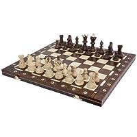Juego de tablero de ajedrez europeo Wegiel Ambassador