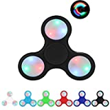 Coroler Luminous Hand Spinner Fidget Toy Stress Reducer with Plastic ...