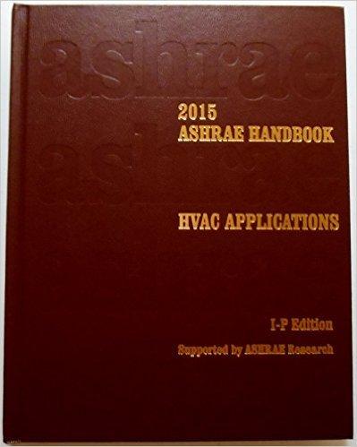 Ashrae Handbook 2015 - Hvac Applications: Si Edition /(Inglés/) Pasta dura – 3 jun 2015 Amer Society of Heating 1936504944 Construction - Heating Science//Mathematics