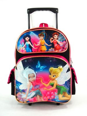 (Rolling Backpack - Disney - Fairies - Tinkerbell - Pixie Dust)