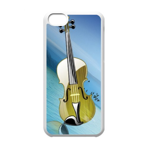 SYYCH Phone case Of Personalized Design Violin 2 Cover Case For Iphone 5C