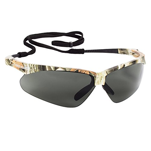 JACKSON SAFETY 47417 Nemesis Polarized Safety Glasses, Polarized Lenses with Camo Frame, 1.75