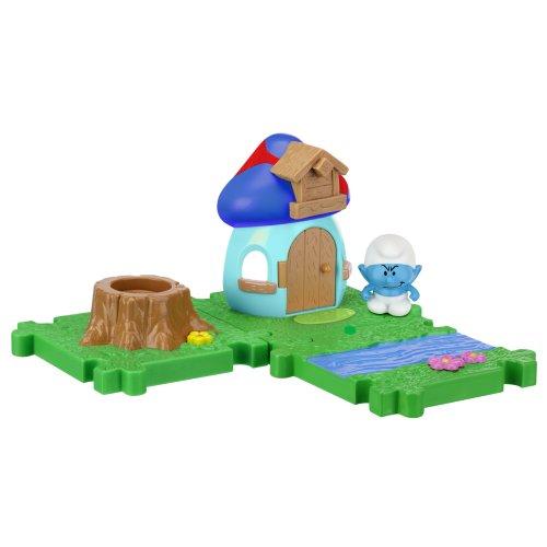 SMURFS 2 Micro Figure Starter Pack: Hefty Smurf - Smurf House