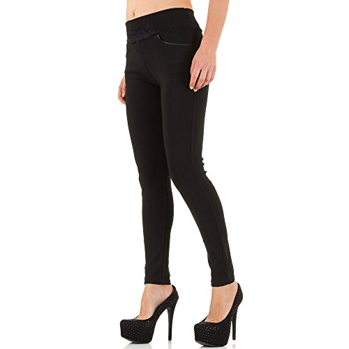iTaL-dESiGn - Pantalón - skinny - para mujer negro