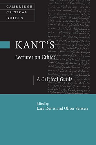 Download Kant's Lectures on Ethics: A Critical Guide (Cambridge Critical Guides) Pdf