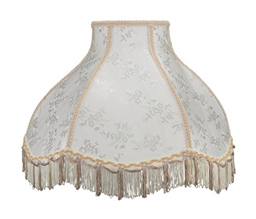 Aspen Creative Scallop Bell Shape Lamp Shade