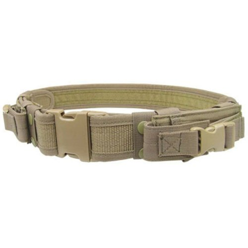 Condor Tactical Belt (Tan, Up to 44-Inch Waist) (Condor Outdoor Tactical)