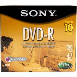 Sony DVD R Jewel Discontinued Manufacturer