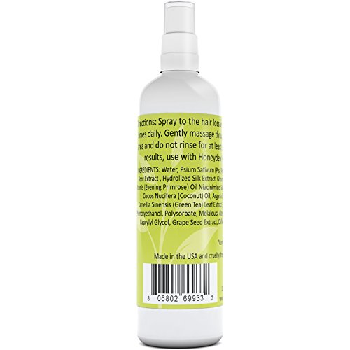 Hair Tonic For Hair Growth All Natural Hair Loss Treatment For Men Women Hair Thickening Hair Shedding Product Hair Regrowth With Coconut Oil Argan Tea Tree Oil Evening Primrose