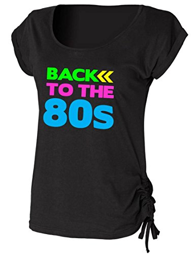 BACK TO THE 80s Ladies Drawstring Top