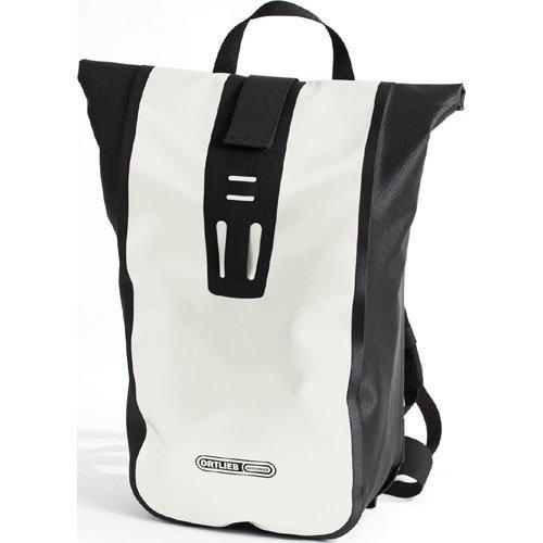 Ortlieb Velocity Backpack: White/Black