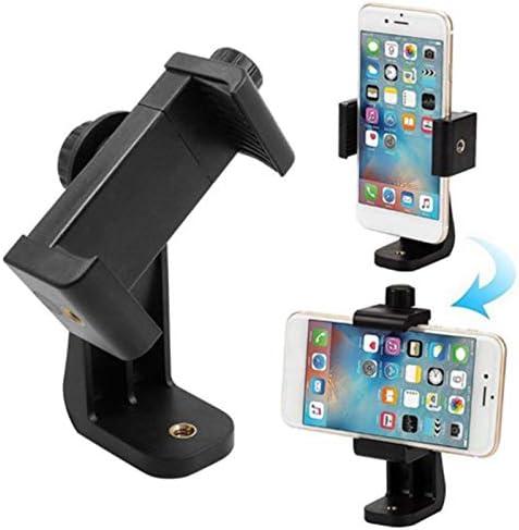Cutogain Adaptateur de tr/épied Adaptateur de Support de Support de t/él/éphone Portable pour t/él/éphone Mobile Universel pour Smartphone