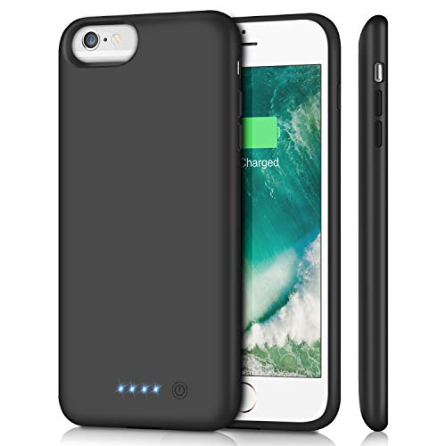 iPhone 6S Plus / 6 Plus Battery Case [8500mAh], Gixvdcu Portable Protective Charging Case for iPhone 6Plus&6S Plus Extended Backup Charger Ultra Slim - Black by Gixvdcu