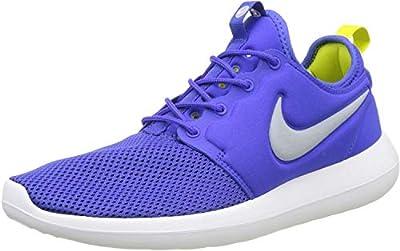 NIKE Men's Roshe Two Paramount Blue/Wolf Grey Running Shoe 10.5 Men US
